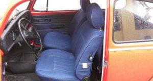 Autositz-Reparatur-Jeansstoff